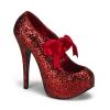 TEEZE-10G Red Glitter